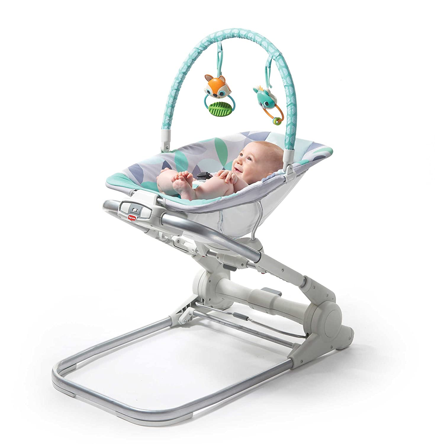 13040a072 Amazon.com   Tiny Love Magical Forest 3-in-1 Close to Me Bouncer   Baby