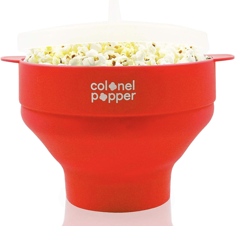 Colonel Popper microondas palomitas popper - tazón de palomitas de ...
