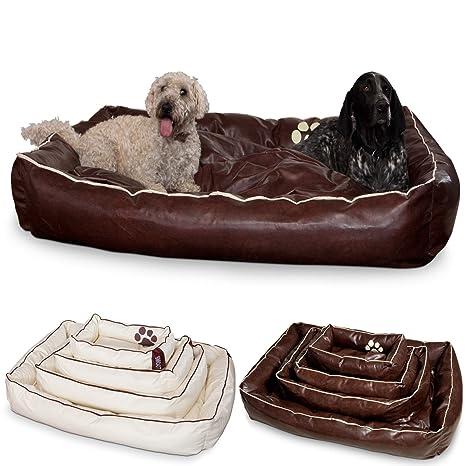 Cama para perros de piel Perros cesta de dogsm oothy