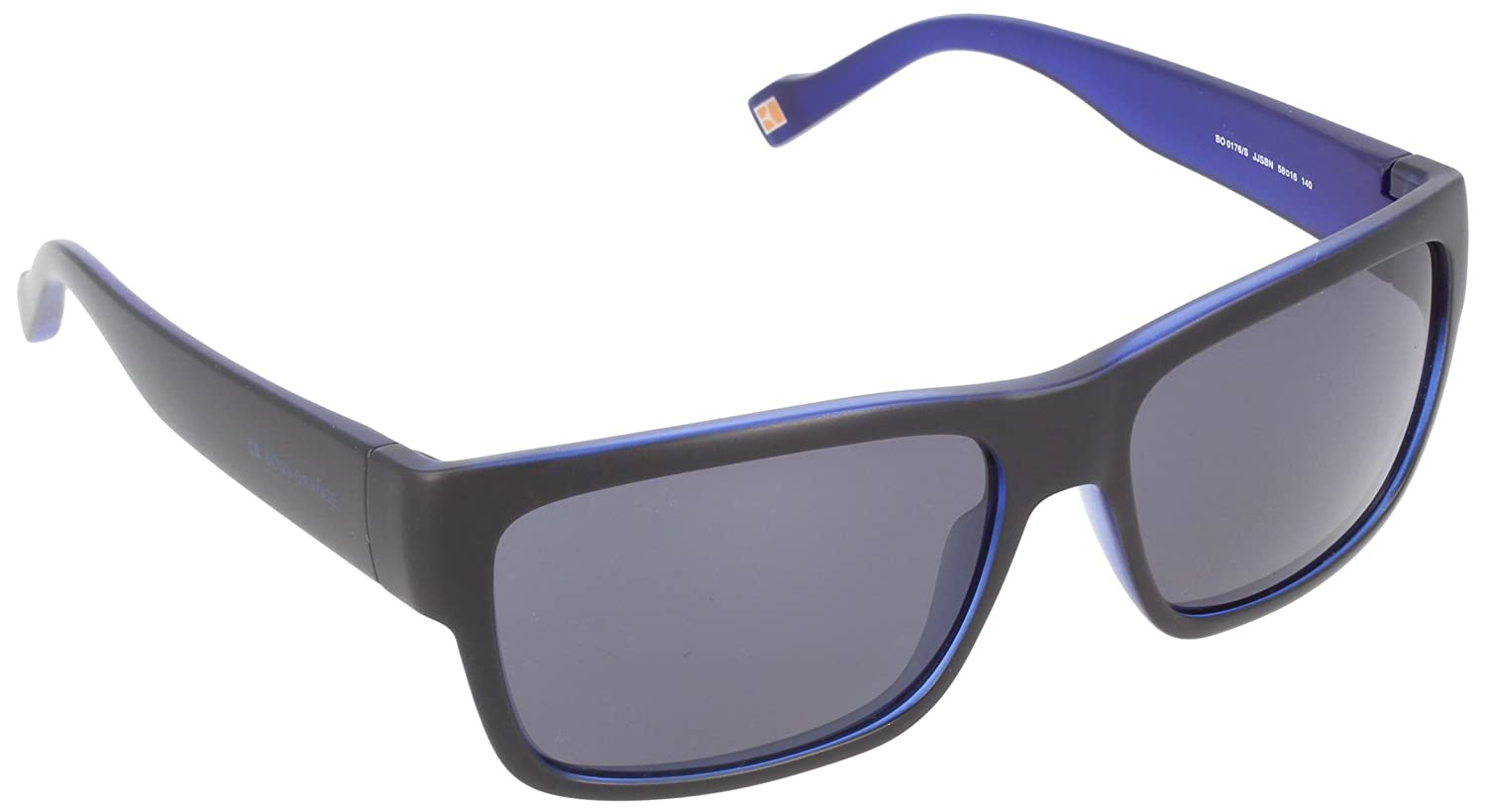 bd7f87411f5 Boss Orange Unisex-Adult s 0176 S Bn Sunglasses Black Bluee Jjs 58   Amazon.co.uk  Clothing