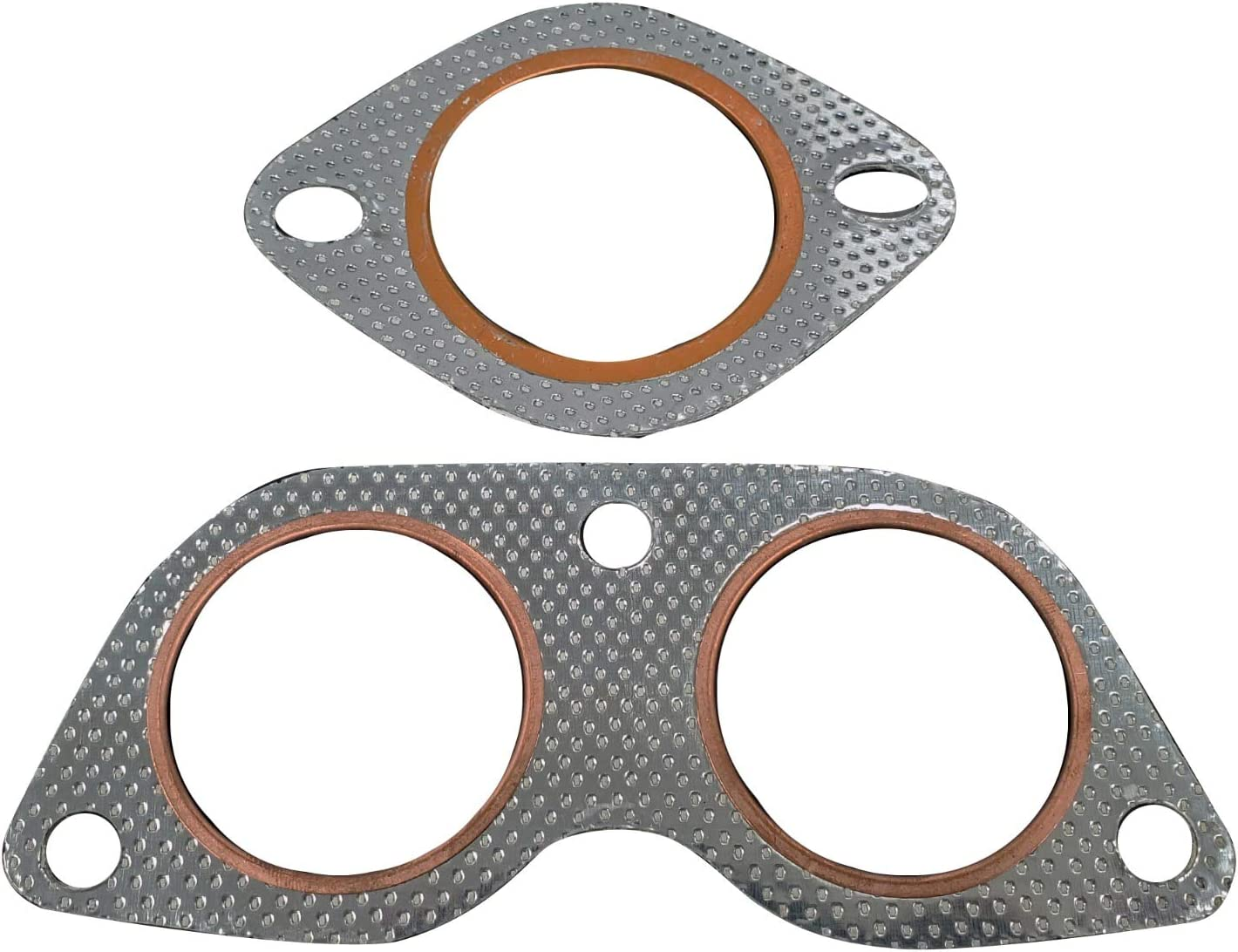 ALUMINUM METAL GASKET PACK FOR LEXUS IS300 ALTEZZA Y-PIPE DOWNPIPE