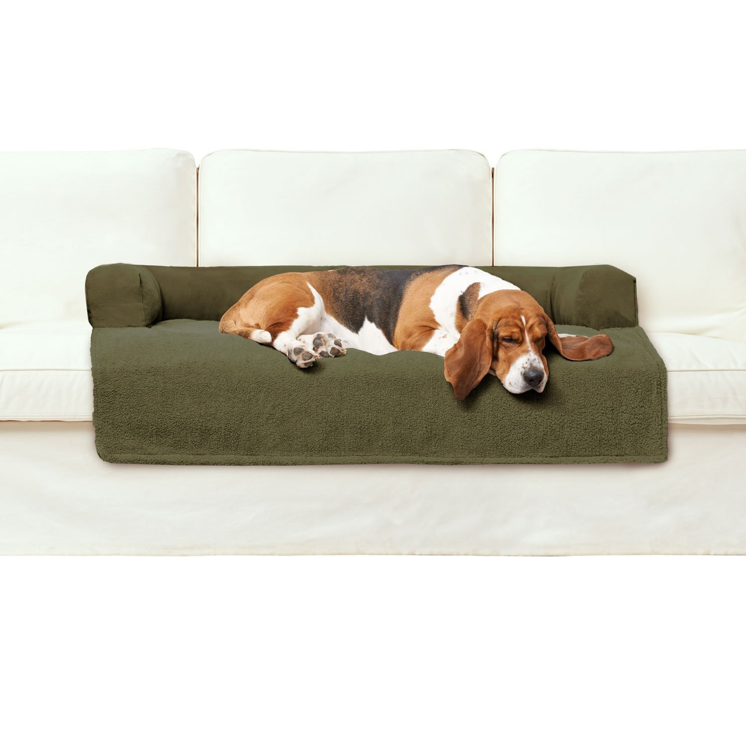 Amazon : PawTex Premium Couch Cover Dog Bed, 50 Inch, X-Large/Jumbo,  Tan : Pet Care Products : Pet Supplies