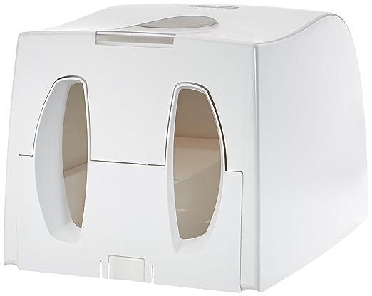 KIMBERLY-CLARK PROFESSIONAL* Dispensador de Toallas Secamanos Interplegadas - Blanco: Amazon.es: Industria, empresas y ciencia