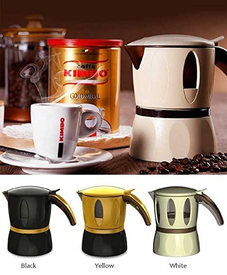 Amazon.com: Kimbo Cafetera Moka Pot para microondas ...