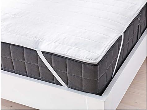 Angsvide Ikea Surmatelas Pour Lit Double Blanc 140 X 200 Cm