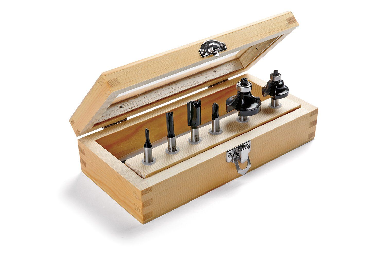 Irwin Tools 1901047 Marples Basic Router Bit Set (6 Piece)