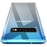 CATYNORE Coque Galaxy S10, [Antichoc Bumper ]Silicone Transparent TPU Souple Housse, Anti-Rayures, Anti-Dérapante Protection Case Cover pour Galaxy S10 - Transparent