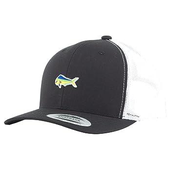 d431a733d7c Amazon.com  Salty Crew Men s Happy Fish Retro Trucker Hat