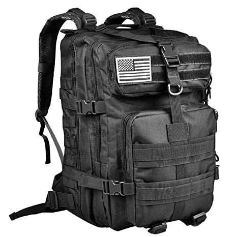 38a4086be9 CVLIFE Military Tactical Molle Backpacks 3 Day Assault Pack Bug Out Bag  Army Rucksacks for Outdoor