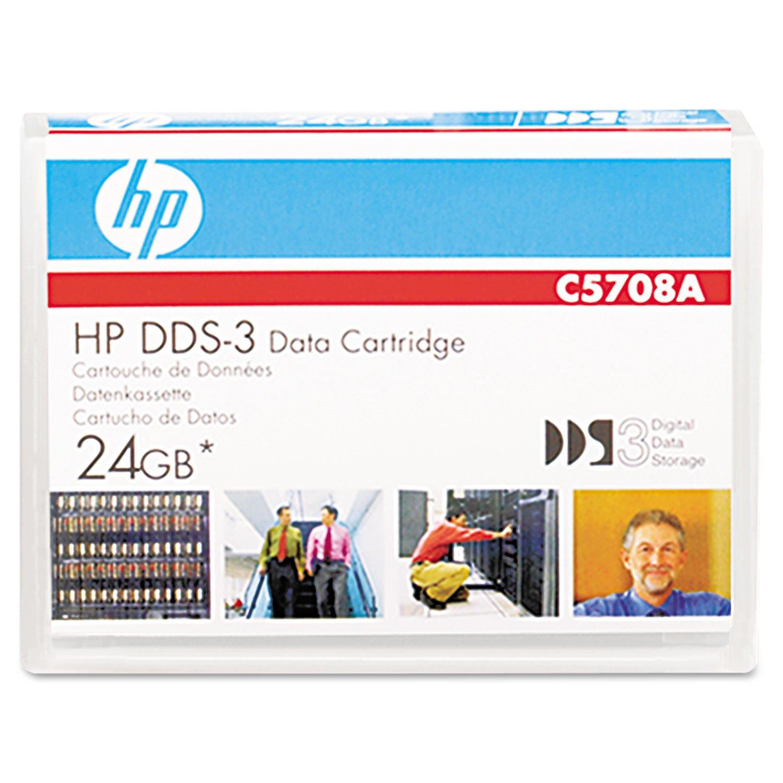 Data Cartridge Hp Dds-3 24gb C5708a