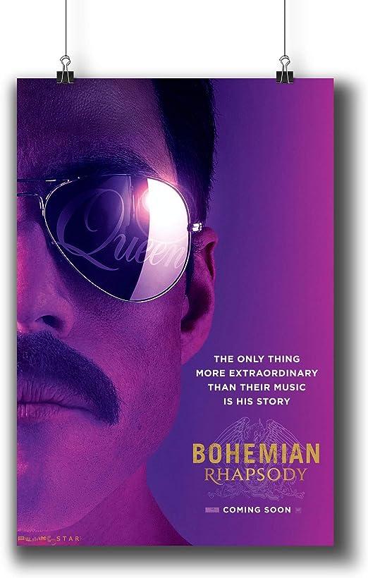 Bohemian Rhapsody Movie Wall Art Silk Poster Canvas Art Print Picture Home Decor