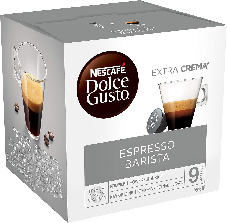 Nescafé Dolce Gusto Café Espresso Barista - 16 Cápsulas de Café ...