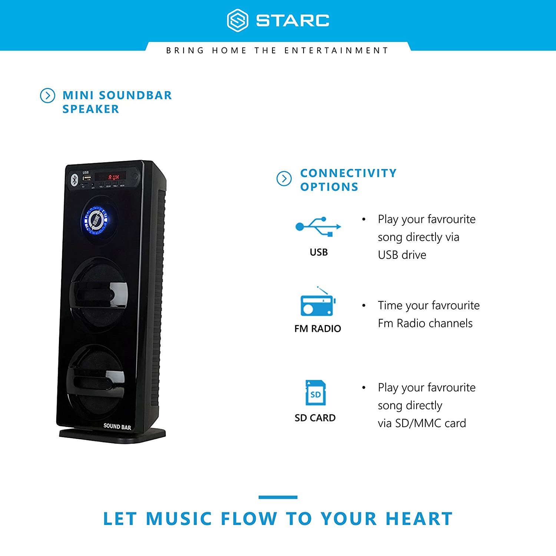 how to play radio through soundbar