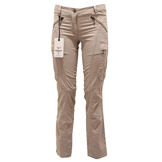Donna Cargo Cargo Pantalone Beige Pantalone 0Own8Pk