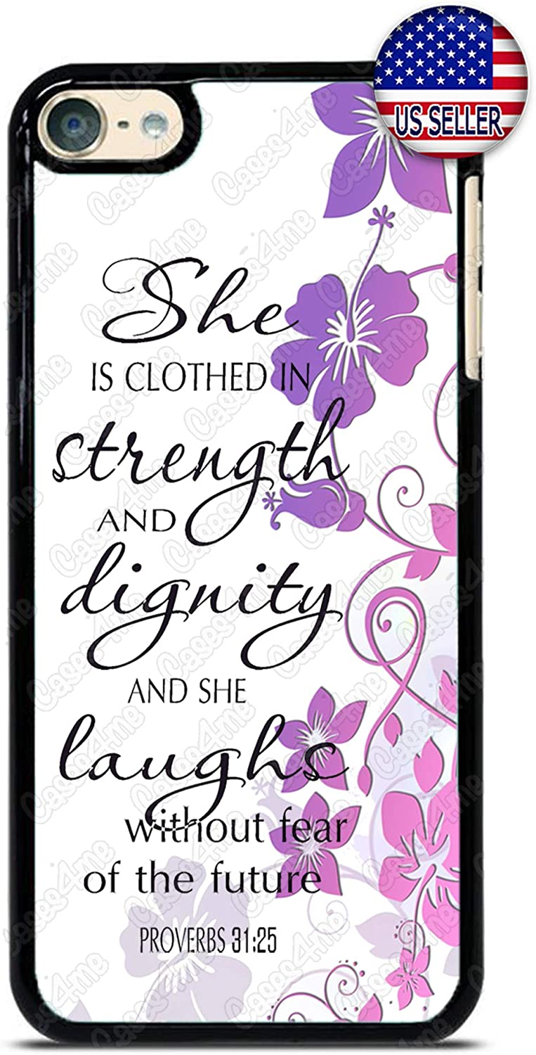 Christ Faith Bible Phone Case Christian Verse Slim Shockproof Hard PC Custom Case Cover for iPod Touch 7 6 5