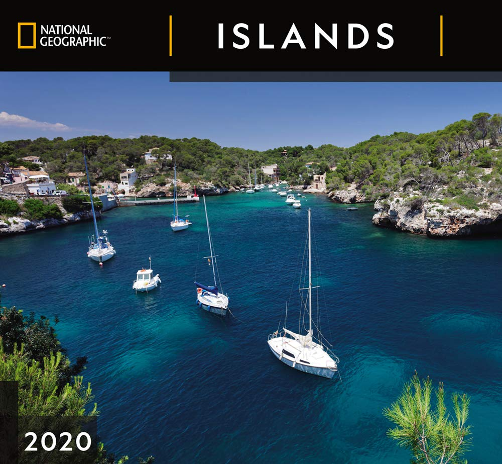 National Geographic Islands 2020 Wall Calendar: Zebra Publishing