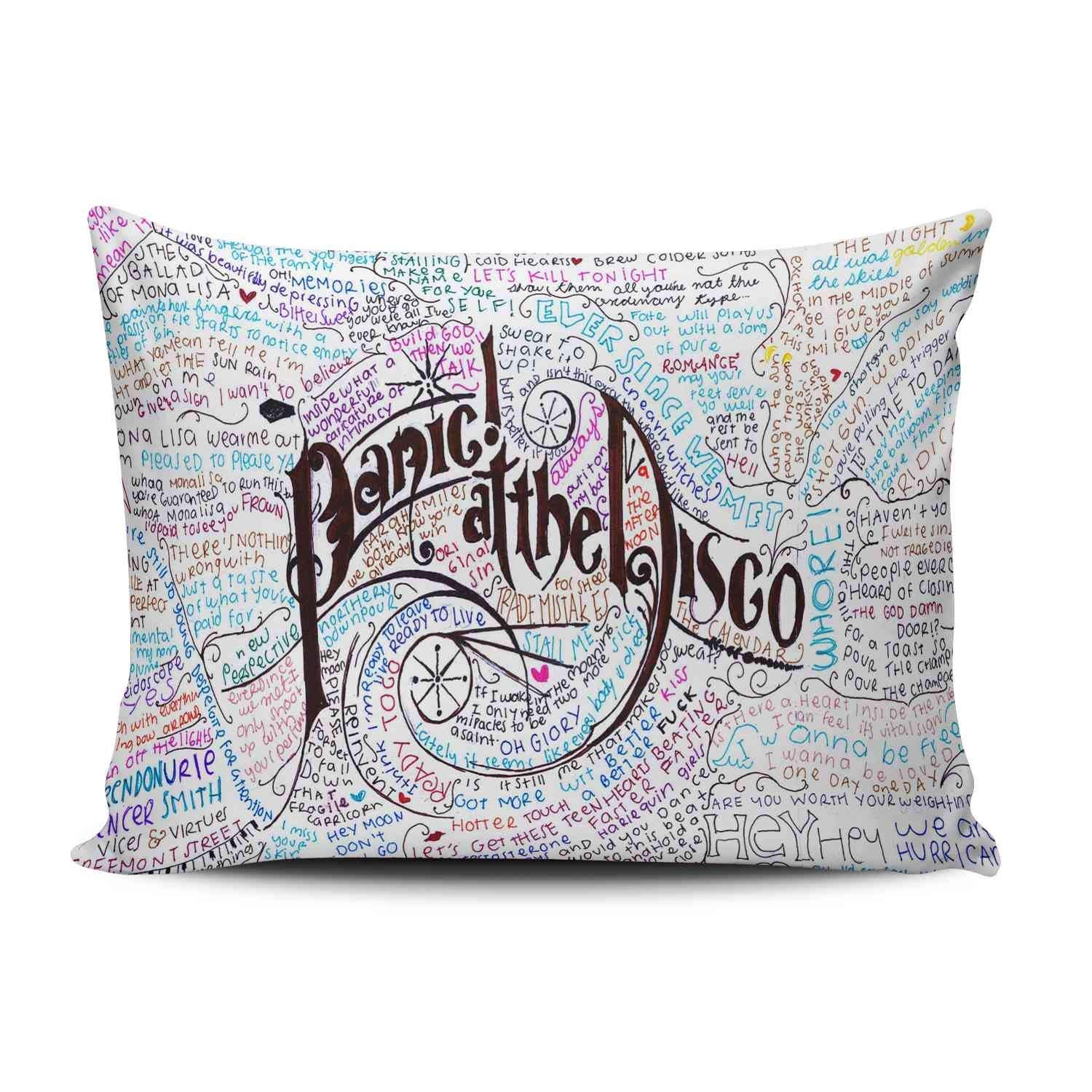 ZeDae Panic At the Disco Galaxy Personalized Pillowcases Designer Decorative ...