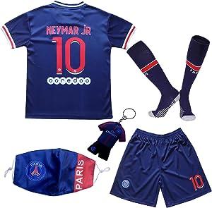 Necm 2020/2021 Paris Away Football Futbol Soccer Kids Jersey Shorts Socks Set Youth Sizes
