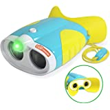 Toy Binoculars for Toddlers and Kids – Kids Toy Binoculars with Flashlight – Face Comfy Binoculars for Toddlers and…