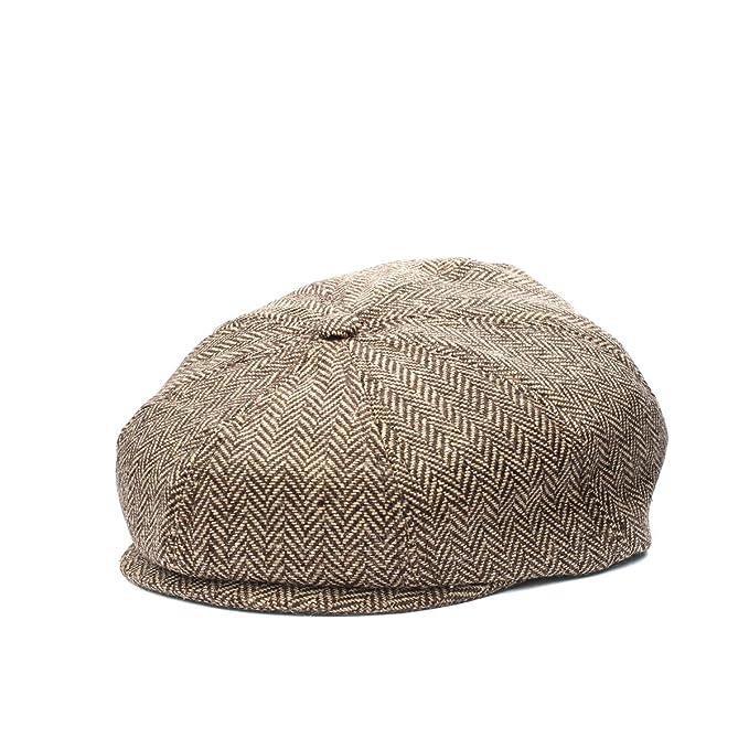 571123d9264ef Baby Boy Ring Bearer Pageboy Flat Ivy Newsboy Tweed Golf Cap Hat   Amazon.ca  Clothing   Accessories
