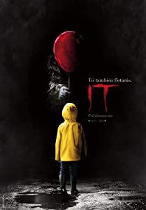 Rock-Poster IT One (2017 Movie Poster) Stephen King - Pennywise Posters and Prints Unframed Wall Art Gifts Decor 11x17