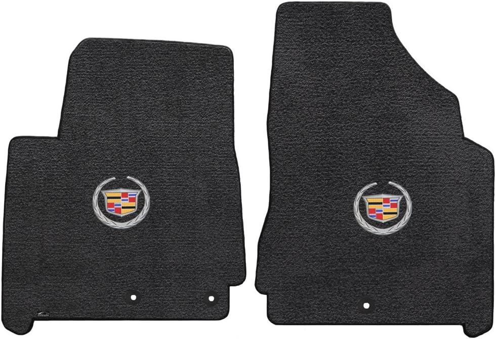 2012-2016 Cadillac SRX Black Ultimat Floor Mats - Crest & Wreath Logo 71b9DId-K7LSL1001_