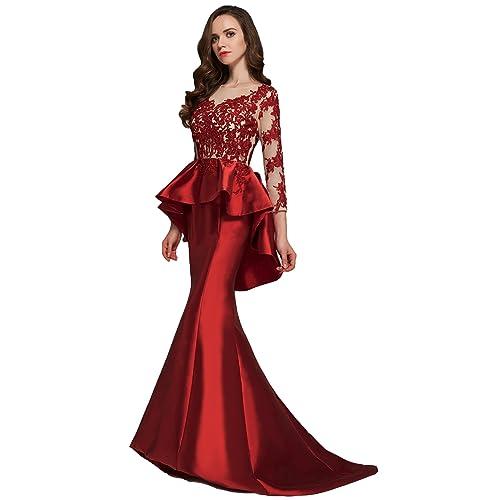 Evening Peplum Dresses