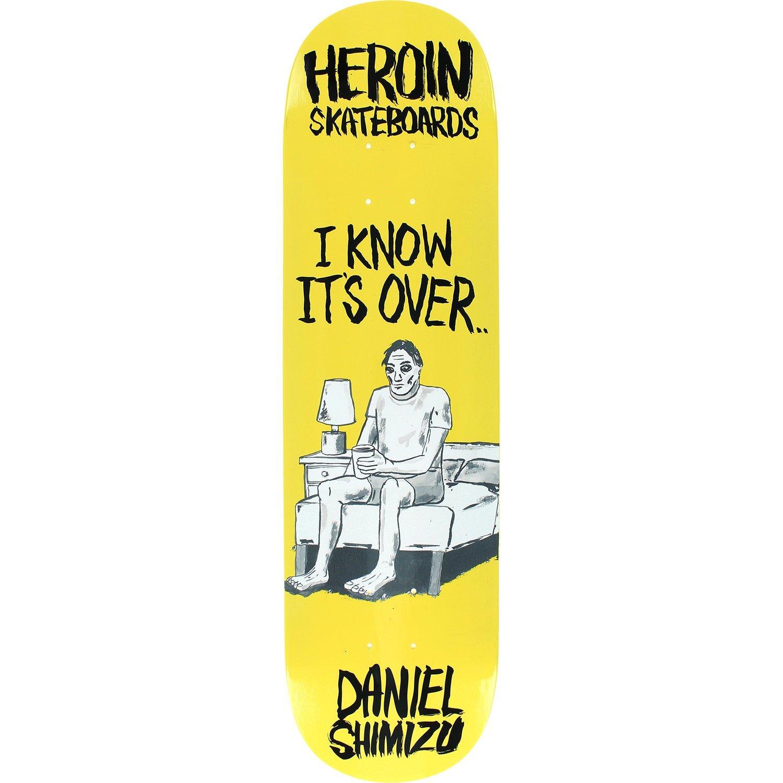 Heroin Shimizu Shimizu Wordsmithデッキ8.12 – Assembled Heroin Assembled as complete skateboard B07B5WRPT5, 安達町:077d6f7d --- integralved.hu
