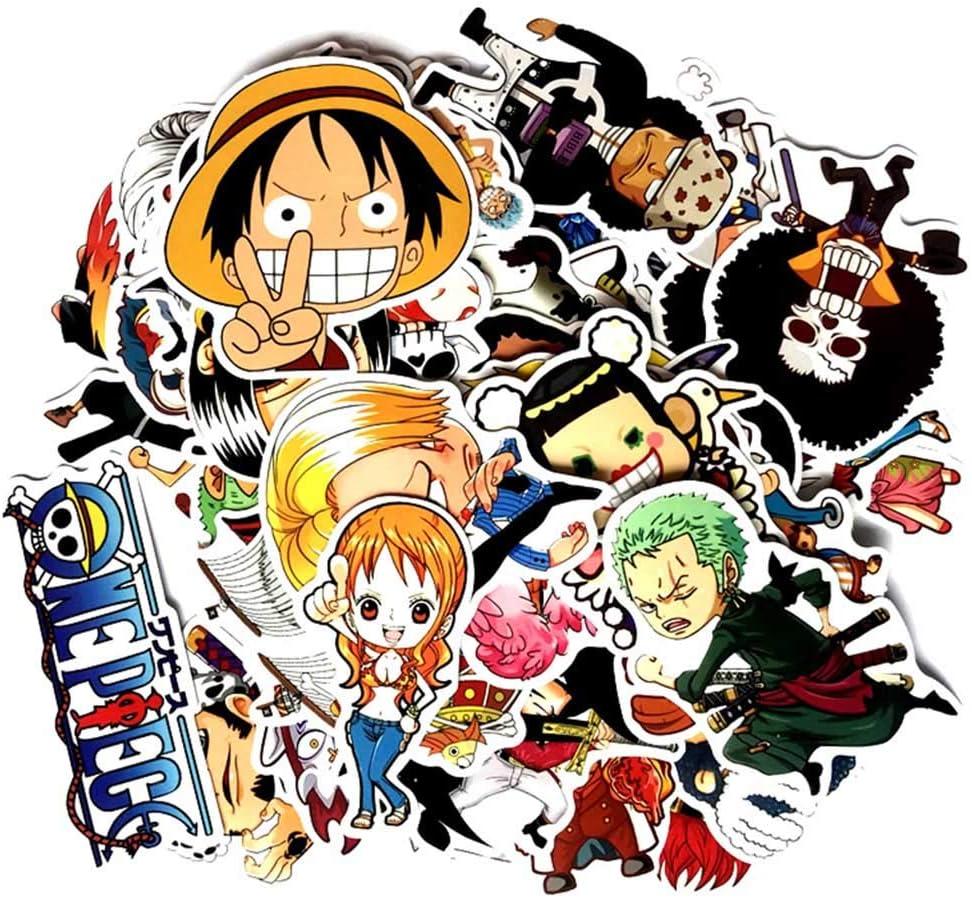 Skateboard 6 stk - A Gep/äck ALTcompluser One Piece Stickers Wasserdicht Aufkleber Vinyl Aufkleber f/ür Laptop Macbook