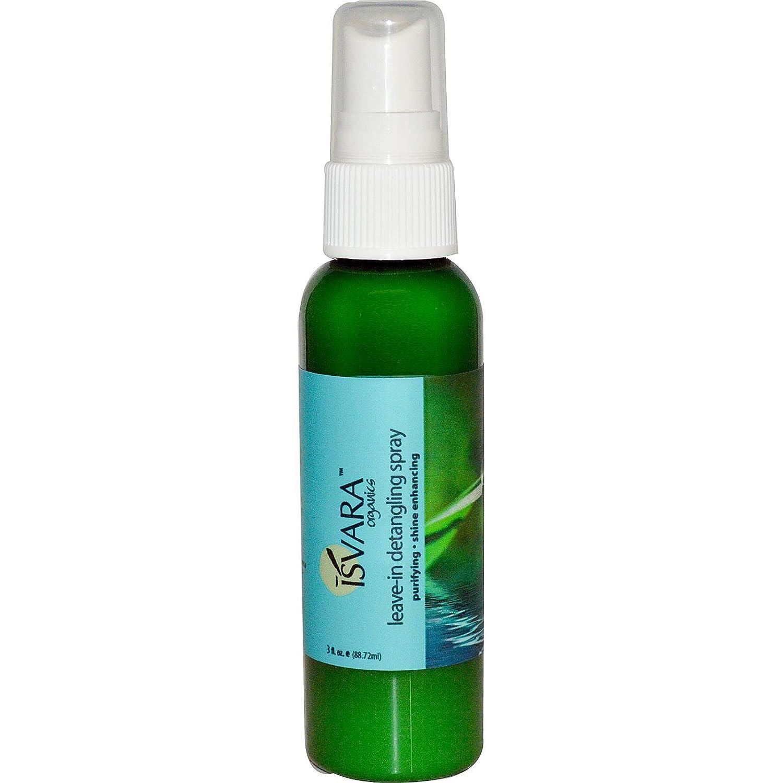 Isvara Organics Leave-In Detangling Spray -- 3 fl oz