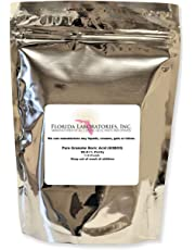 Florida Laboratories Boric Acid Pure Fine Granular Powder 1 Lb.Create Your own Solution. 100 Household Uses