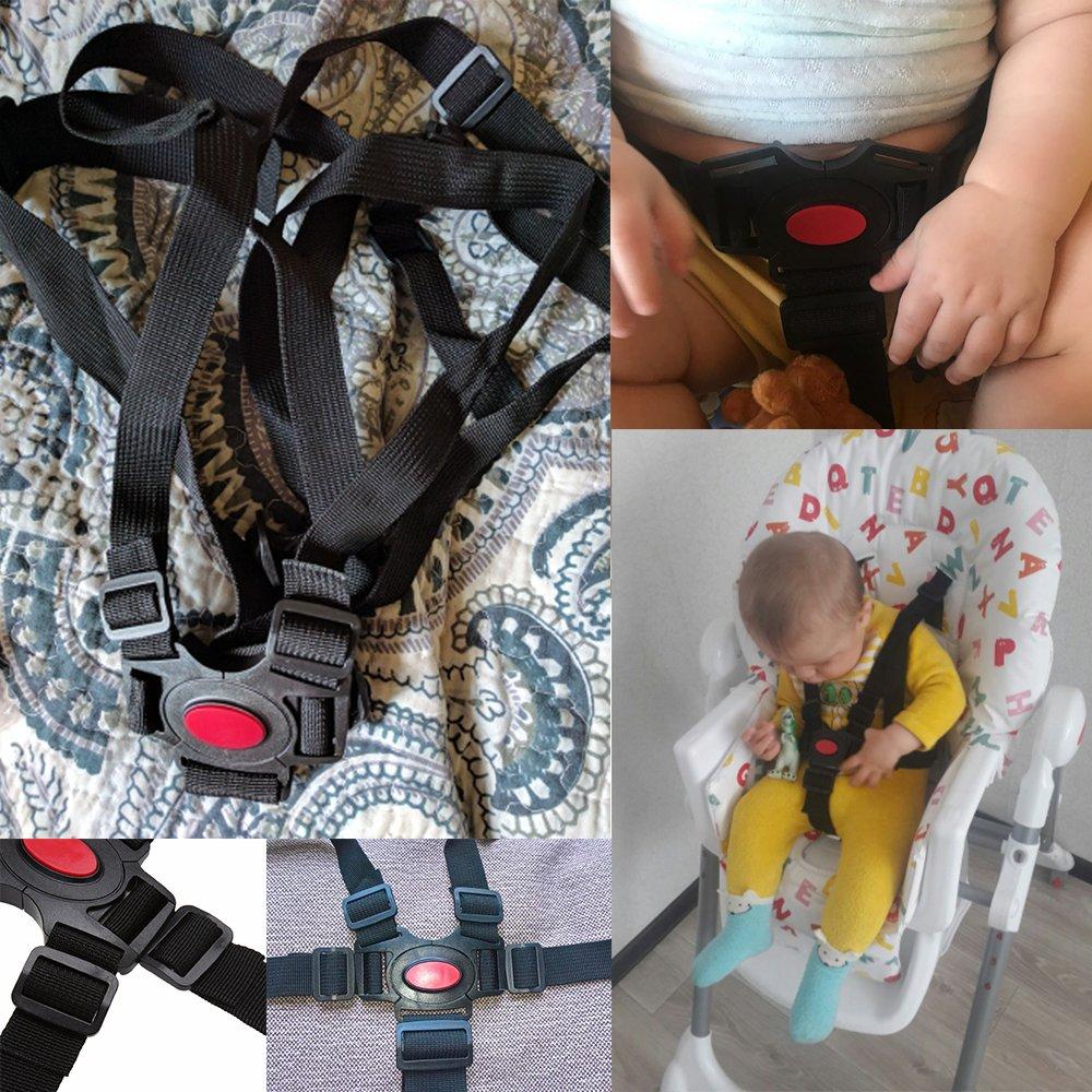 Inclure Coussinets d/épaule et Guarding Pad Ceinture de s/écurit/é par Zarpma 5//3//2/Point de lassise r/églable Harnais pour b/éb/é Kid Safe Sangle pour poussette Chaise haute