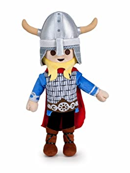 Famosa Softies Peluche Playmobil 30 cm Vikingo (760015048), 1