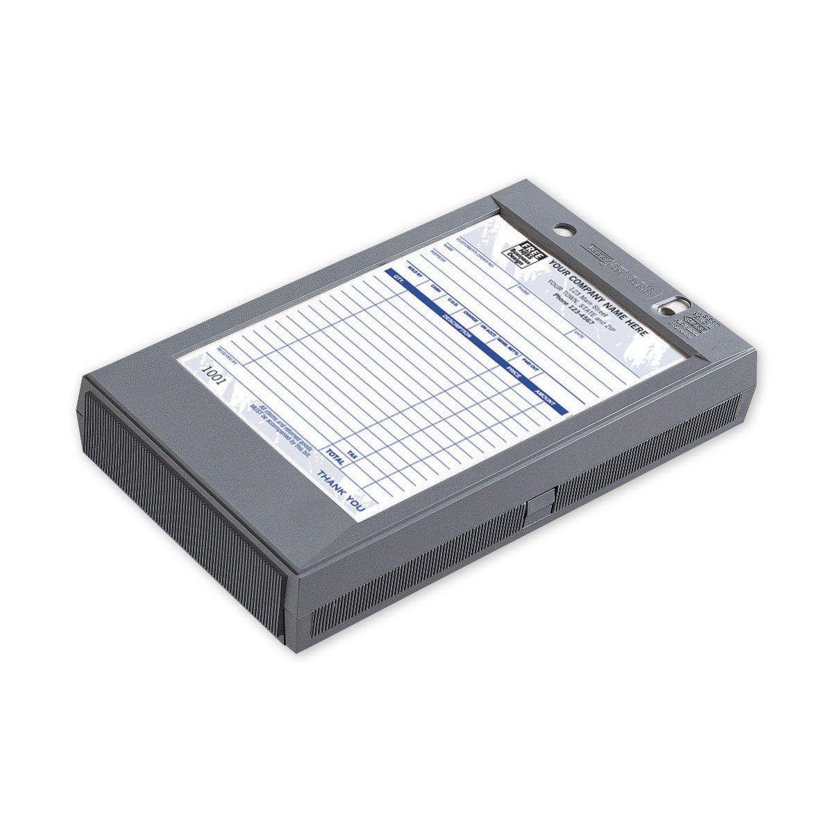 CheckSimple Portable Register - Plastic Register for 5 1/2 x 8 1/2 Forms (1 Qty) by CheckSimple