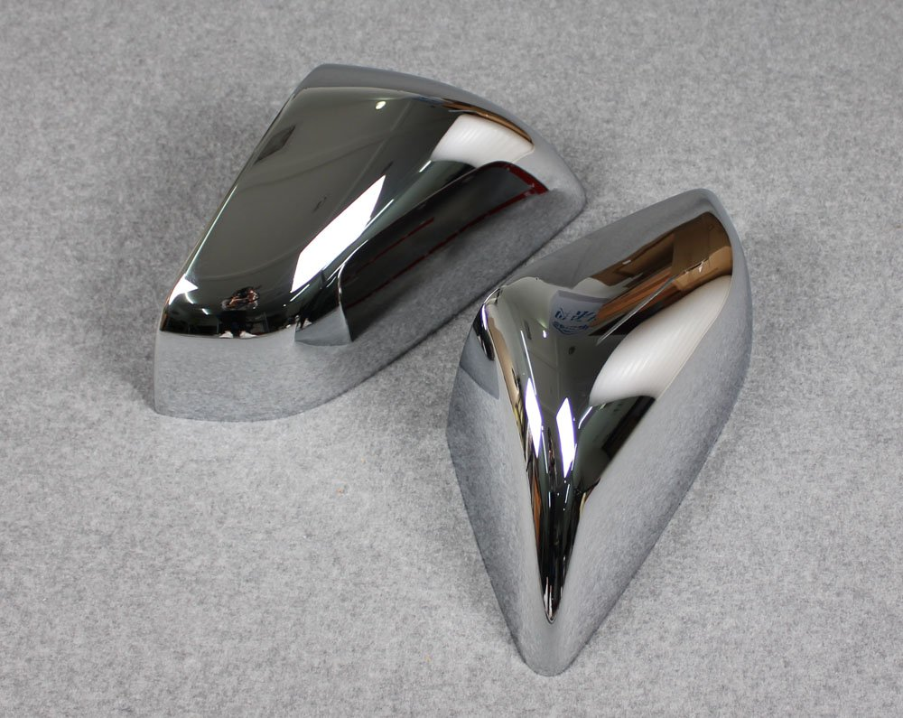 Rqing For Tesla Model X 2016 2017 2018 Chrome Rear View Mirror Cover Trims Guangzhou Ruiqing