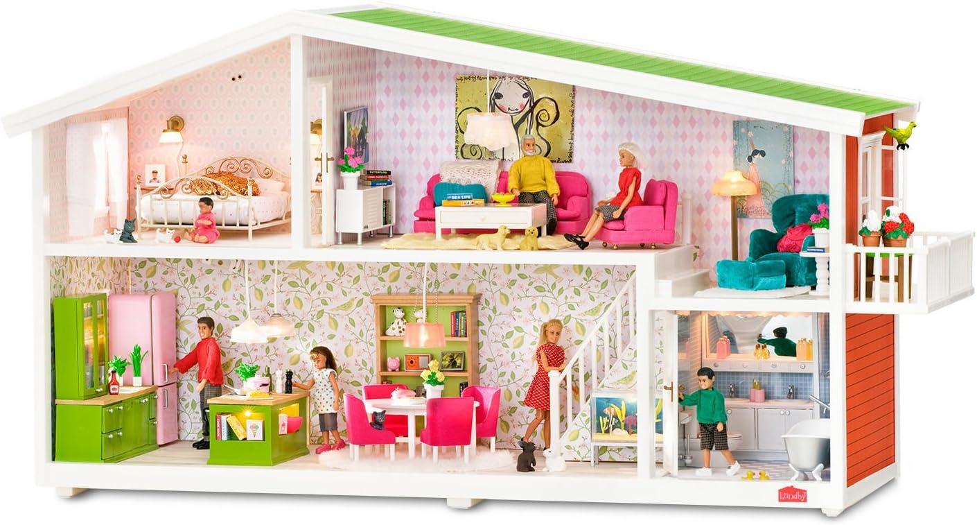 LUNDBY ™ 60.8055.99 SMALAND animale Set Special ediation per casa delle bambole in 1:18