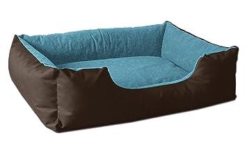 BedDog colchón para Perro LUPI S hasta XXXL, 24 Colores, Cama para Perro, sofá para Perro, Cesta para Perro, S marrón/Azul: Amazon.es: Productos para ...