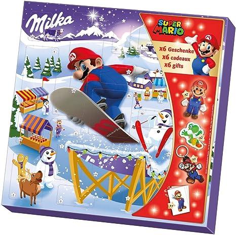 Milka Weihnachtskalender.Milka Super Mario Adventskalender 1 X 148g