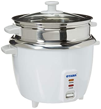OYAMA Stainless Steel 16-cup Rice Cooker