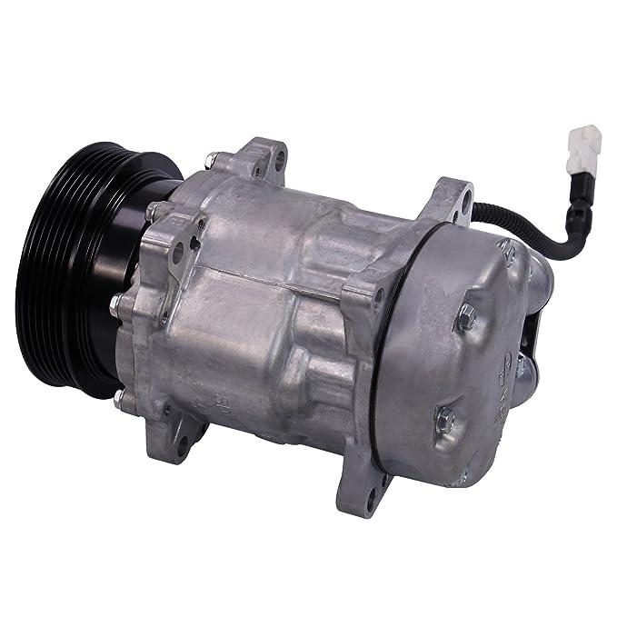 climática Compresor climática Compresor Aire Acondicionado sanden sd7 V16,: Amazon.es: Coche y moto