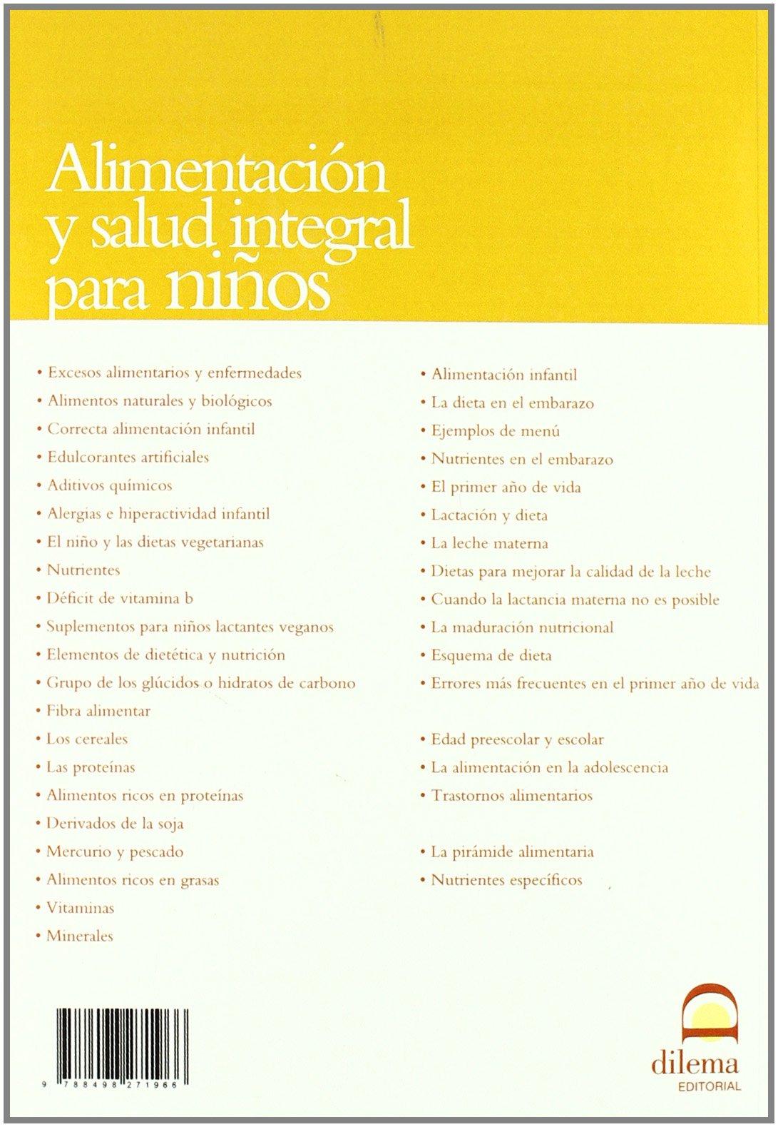 Alimentación y salud integral para niños: Clara Castelloti: 9788498271966: Amazon.com: Books