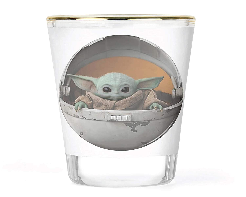 Starbucks Baby Yoda Star Wars Cute Yoda STARBUCKS Funny Shot Glass Gift