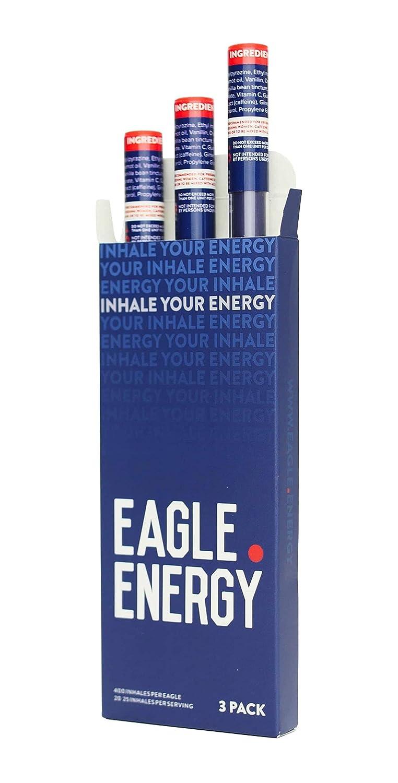Eagle Energy Caffeine and Energy Infused Vapor Stick, Sugar-Free Energy  Drink Alternative, 3 Count