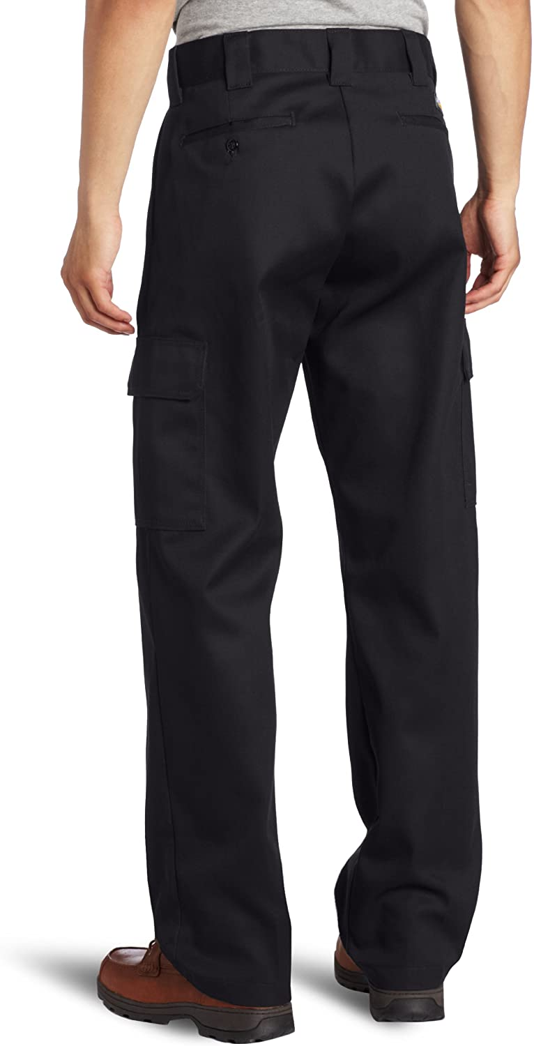 Dickies Men's Relaxed Straight-Fit Cargo Work Pant: Dickies Cargo Pants For Men: Clothing