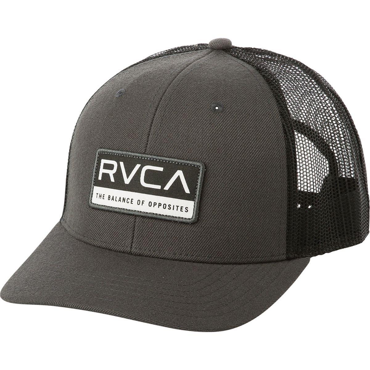 designer fashion d5fe2 63fd4 Amazon.com  RVCA Men s Reno Trucker Hat  Clothing