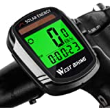 ICOCOPRO Bike Computer with Solar Energy Bicycle Speedometer and Odometer Wireless Waterproof Cycling Computer LCD…