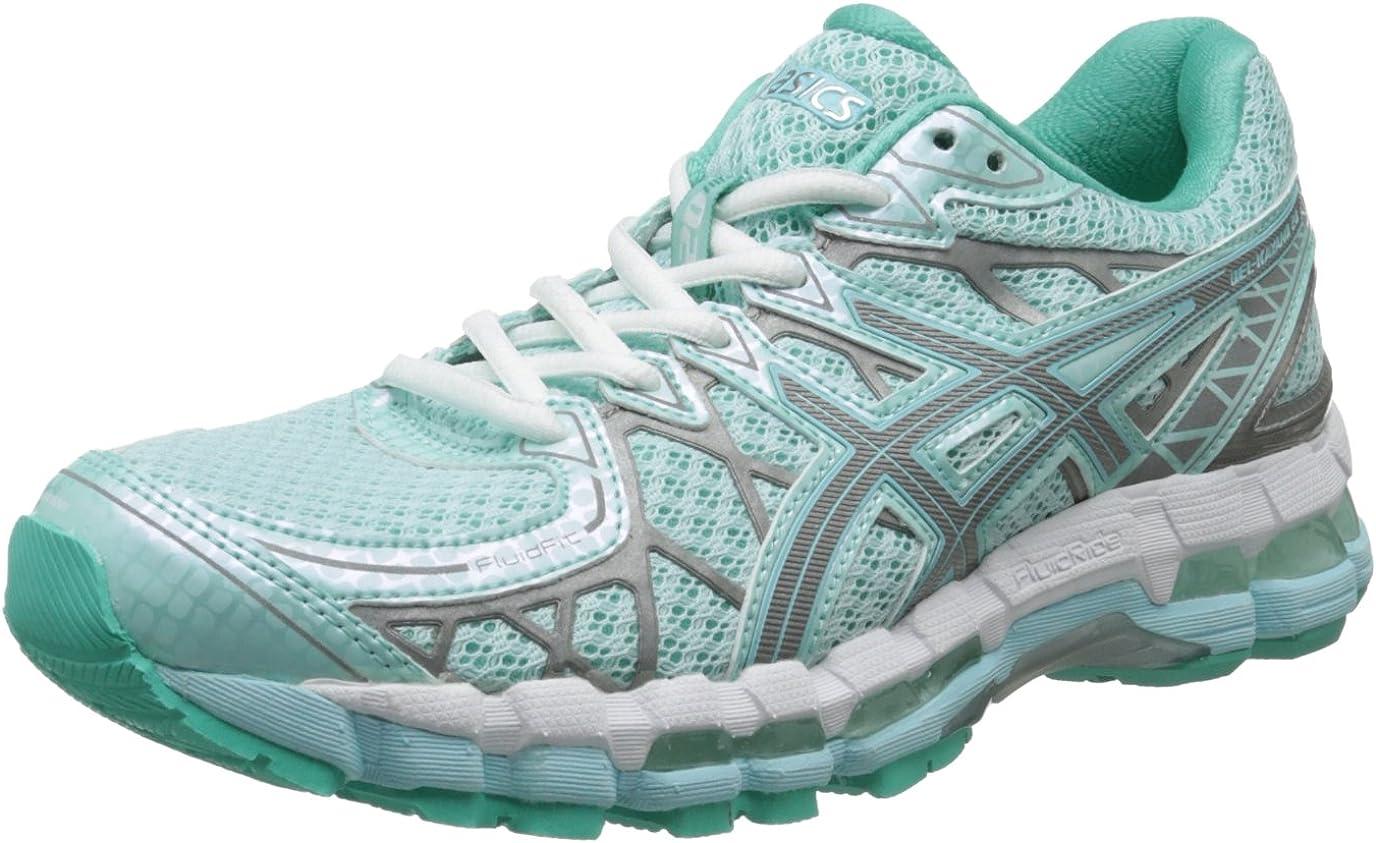 ASICS Zapatillas de running Gel-Kayano 20 Lite Show para mujer, Glacier / Lite / Mint, 6 M US: Amazon.es: Zapatos y complementos