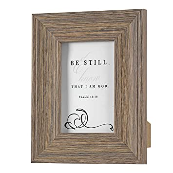 Amazoncom Dicksons Be Still And Know That I Am God Brown 9 X 7