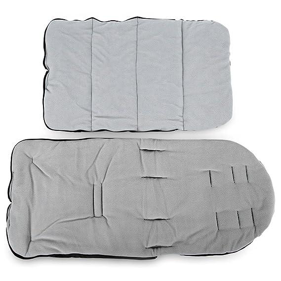 Amazon.com: Saco de dormir del bebé engrosamiento cálido asimiento exterior carros de los niños saco de dormir paño grueso y suave antipatina era negro: ...