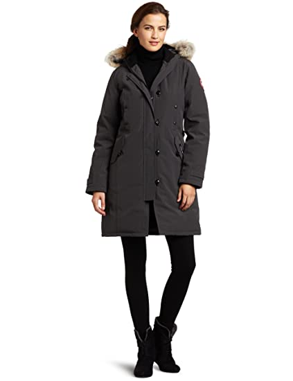Canada Goose Ladies Kensington Parka,Graphite,X-Small